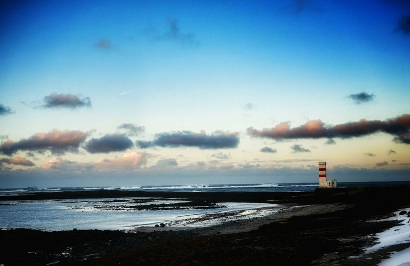 Garðskagi Garskagaviti Lighthouse Stormy Weather Stormy Sony A5000 Nature On Your Doorstep