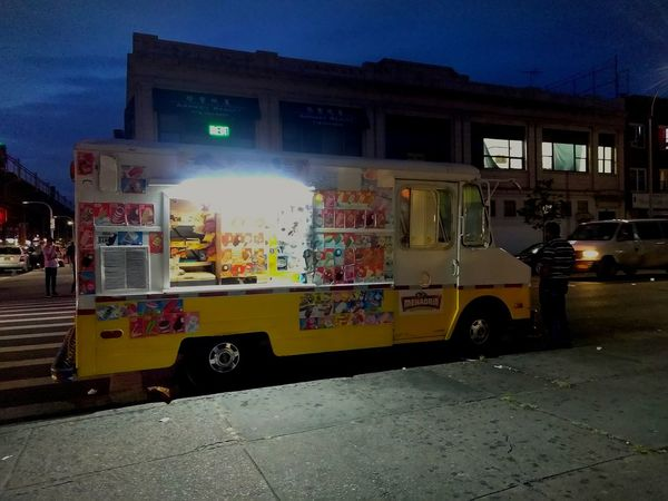 Ice cream.photo by Shell Sheddy Ice Cream Truck Icecream🍦 Shellsheddyphotography Sheshephoto Been There. Done That. Connected By Travel The Week On EyeEm Night Sky Outdoors Street Street Photography Streetphoto_color Food Stories