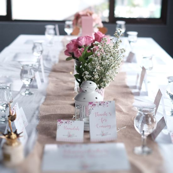 Arrangement Bouquet Bridal Table Bridal Table Flower Event Fine Dinning Fine Dinning Table Flower Flower Arrangement Flowering Plant Freshness Furniture Glass Indoors  No People Place Setting Plant Selective Focus Setting Still Life Table Table Dinner Vase Wedding Wedding Dinner