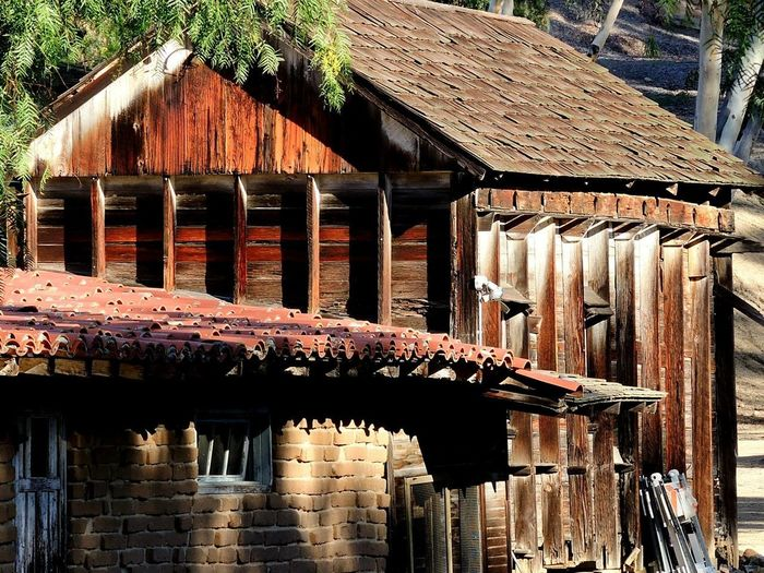 Old-fashioned Ranch Ranch Life Rancho Windmills Country House Day No People Old Buildings Spurs Work Gloves