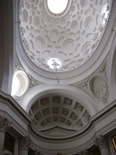 Il genio di Borromini Sancarlino Francescoborromini Borromini Architecture_collection Architecturephotography Architecture Architecturelovers Architectureporn Roma Rome