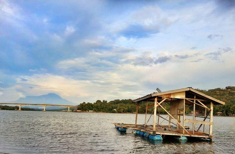 EyeEm Nature Lover Dramatic Sky Clouds And Sky Beauty In Nature Malaysia Truly Asia Sabah Borneo Ocean And Sky Tuaran, Sabah Gayang Bridge