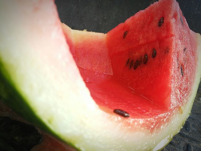 Watermelon🍉 Watermellon  Vibrant Color Smile Fruit Food Focus On Foreground Sandias Food Close-up Freshness Red Fruit
