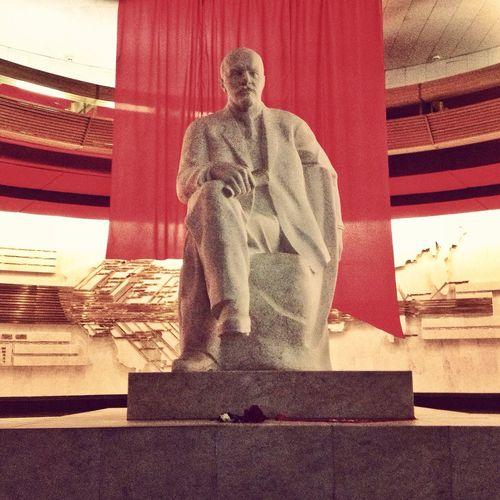Lenin lived! Lenin live! Lenin will live! Ussr Russia Photo