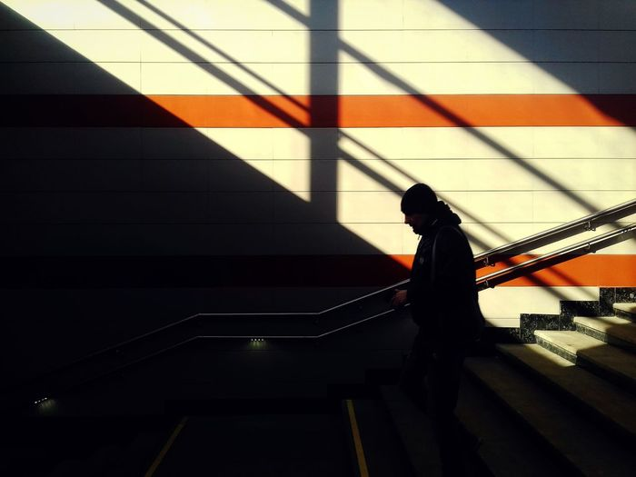 spring sun Street Streetphotography Shadow Streetphoto_color 17.62° Shadow City Steps Silhouette Architecture Built Structure Steps And Staircases