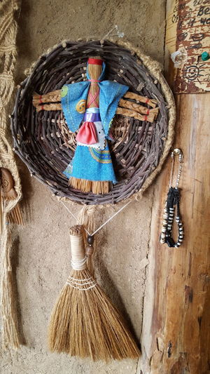 Slavic Decoration No People Close-up Indoors  Clay Wall Wood Straw Natural Materials Russia EyeEm Nature Lover EyeEmNewHere