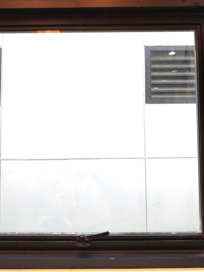 Absence Architecture Building Built Structure Copy Space Day Glass - Material Indoors  No People Reflection Transparent Wall Wall - Building Feature White Color Window Window Frame Window Sill Wood - Material