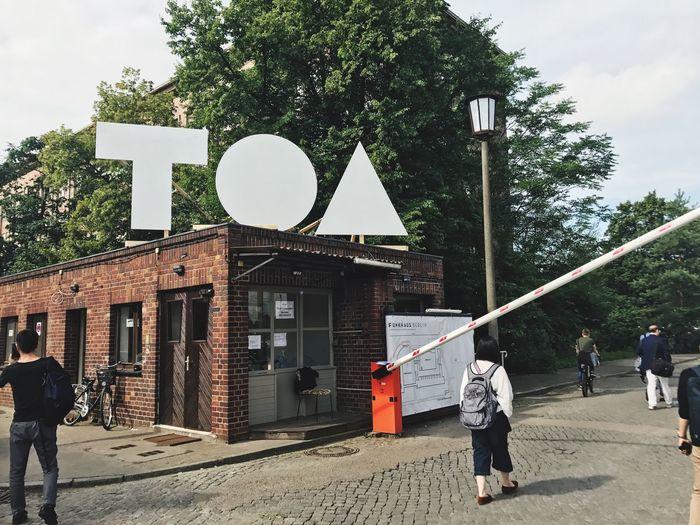 TOA(Tech Open Air)ついにスタートです。本日より2日間に渡ってベルリンで開催されます。 Toa2017