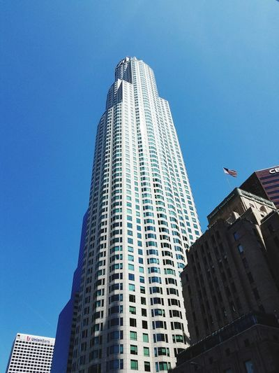Skyscraper Architecture Modern City Building Exterior Business Finance And Industry Built Structure Low Angle View Travel Destinations Urban Skyline Outdoors Business No People Day Cityscape Sky Usbank