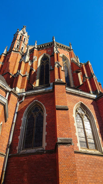 Strossmayer's Cathedral Architecture Window Outdoors History Building Exterior Travel Destinations Day Low Angle View Art Cathedral Cathedral Decor Osijek, Croatia Osijek Croatia Historical Building Historical Place Historical Gotzphoto EyeEmNewHere