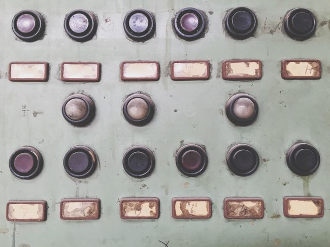 Industrial Buttons Control Interface