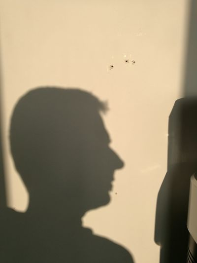 Profile View Shadow Silhouette Indoors  Adult Sunlight People Adults Only Headshot Human Body Part Close-up One Person