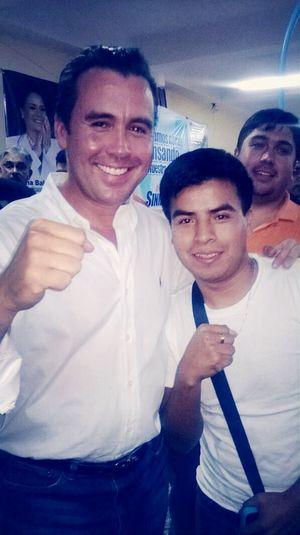 Con Alejandro Sinibaldi el próximo presidente jejejjejejeje