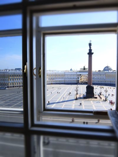 2014 Architecture Built Structure City Cityscape Day Hermitage Museum Museum Plaza Russia Saint Petersburg Sky Tower Window Window View エルミタージュ美術館 サンクトペテルブルク ロシア 冬宮殿