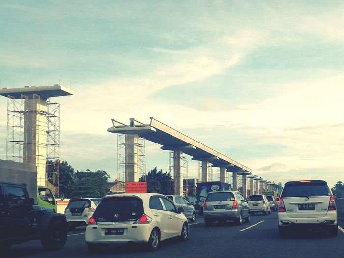 Lrt Jakarta in the making