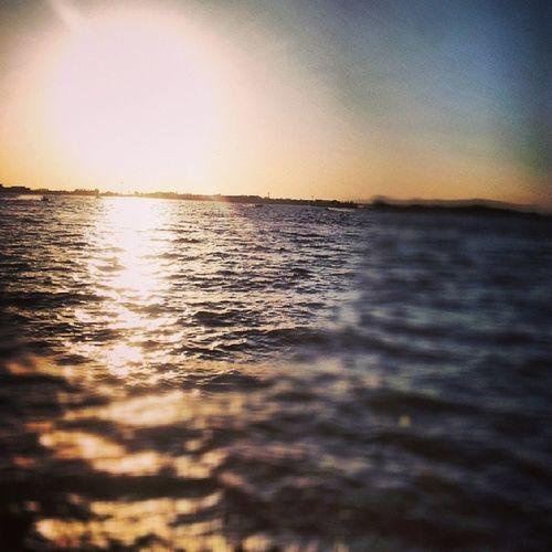 تصويري  جدة بحر غروب الشمس ابداع اجمل ❤❤❤~~