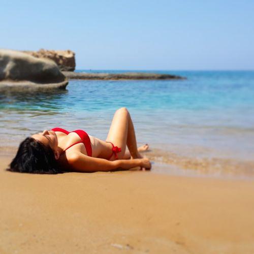 Sunbathe Summer ☀ Lovely Day Relaxing ???