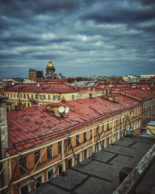 Sky Cloud - Sky Built Structure Architecture Outdoors Vertical Russia Saint Petersburg Roof Day City Cathedral Tourism Travel Xiaomi Mi4c
