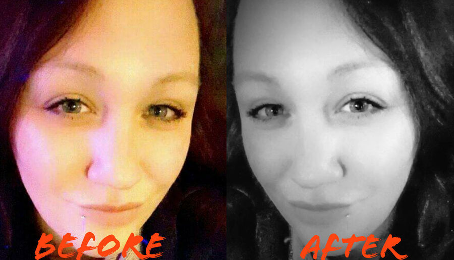 @invisibility1 Edited My Way Darryn Doyle Check This Out Adult One Woman Only Human Face Looking At Camera Selfie Portrait Photoshop Photoshop Edit BeforeAndAfter  Touchup Beautiful People