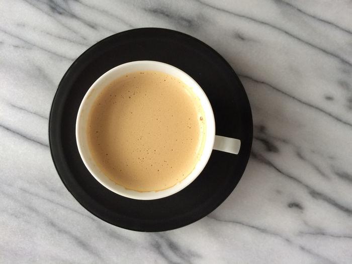 Blackandwhite Coffee Cup Furniture Marble Porcelain  Porcelainenoire Table
