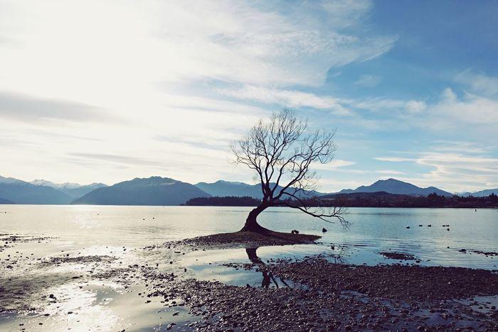 Water Sky Beauty In Nature Scenics - Nature Cloud - Sky Mountain Lake