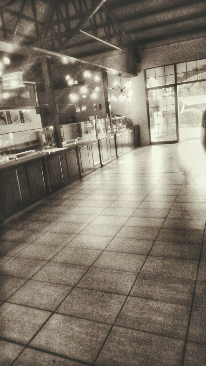 indoors, flooring, empty, no people, illuminated, architecture, built structure, day