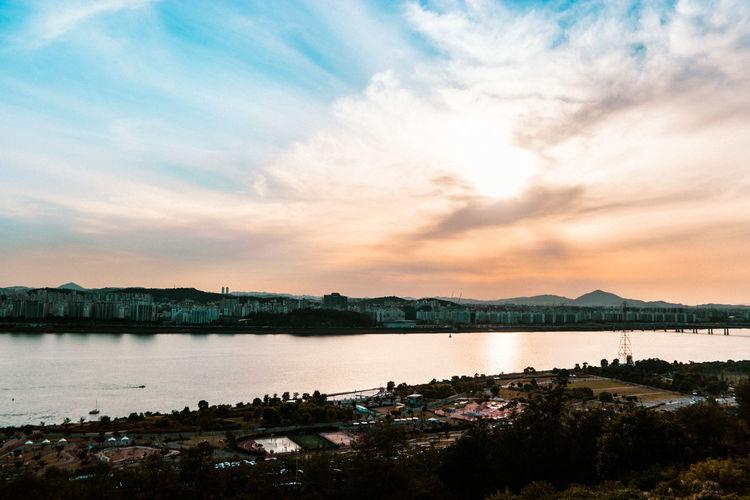 Cloud Eye4photography  EyeEm Best Shots EyeEm Korea EyeEm Nature Lover Landscape River Scenery Sky Sunset