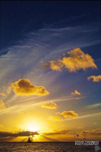 Adrift Sunset Sailboat Clouds And Sky EyeEm Best Shots