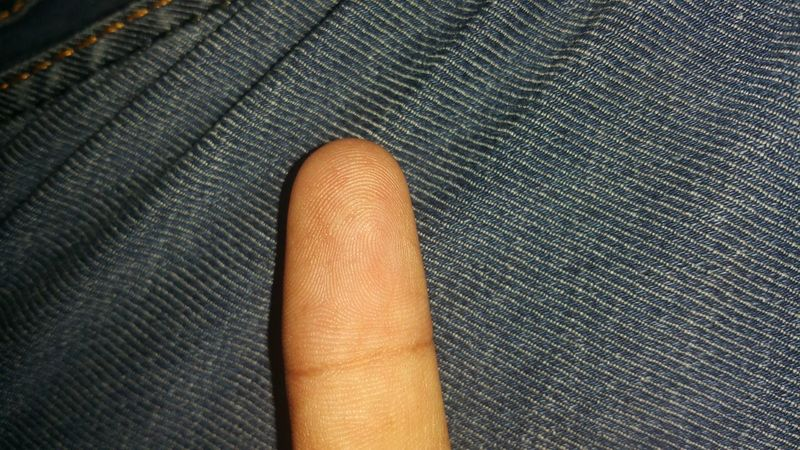 Human Skin Close-up Full Frame Finger Print