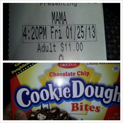 movies before the bf goes to work tonight :) @ha8ed #popcorn #snickers #cookiedough #shirleytemple