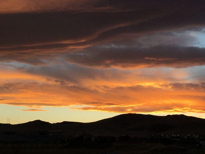 Reno Sunset in