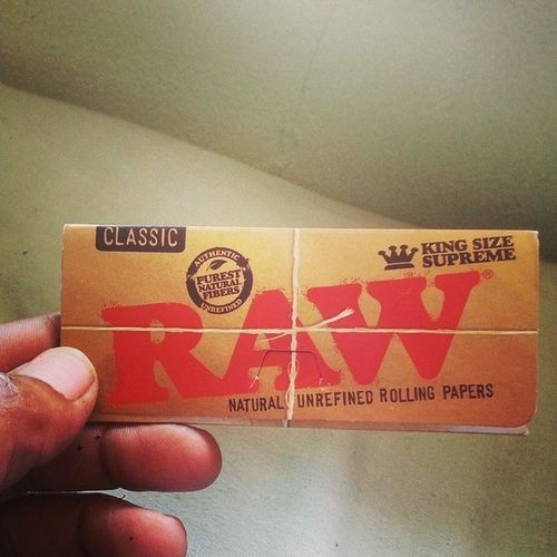 "Today's show is brought to you by Raw papers. ""If it ain't a RAW paper, you just wasting flavor"" Raw DogWalkerOG OMMP"