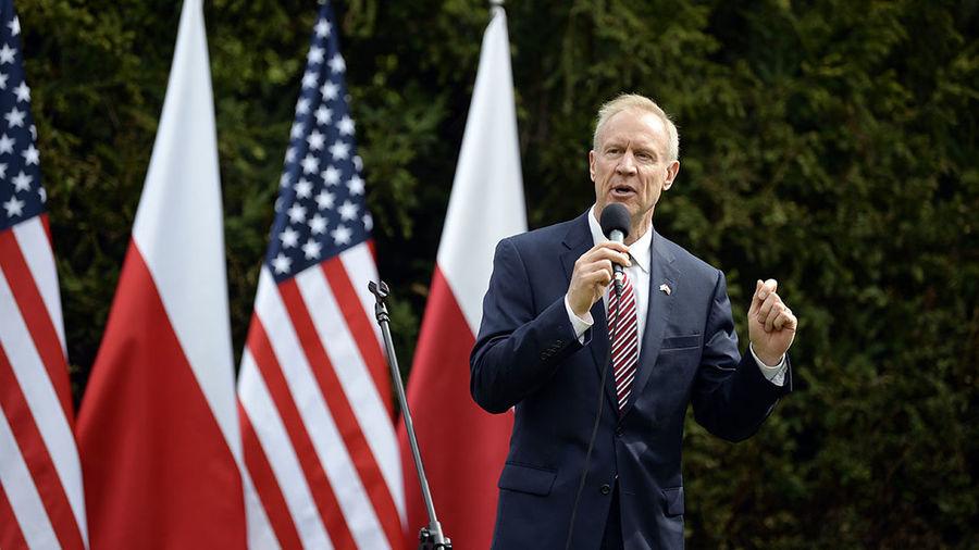 Bruce Rauner Illinois USA Army Ambasador USA Ambassador Gubernator Illinois Gubernator's Garden Strategy
