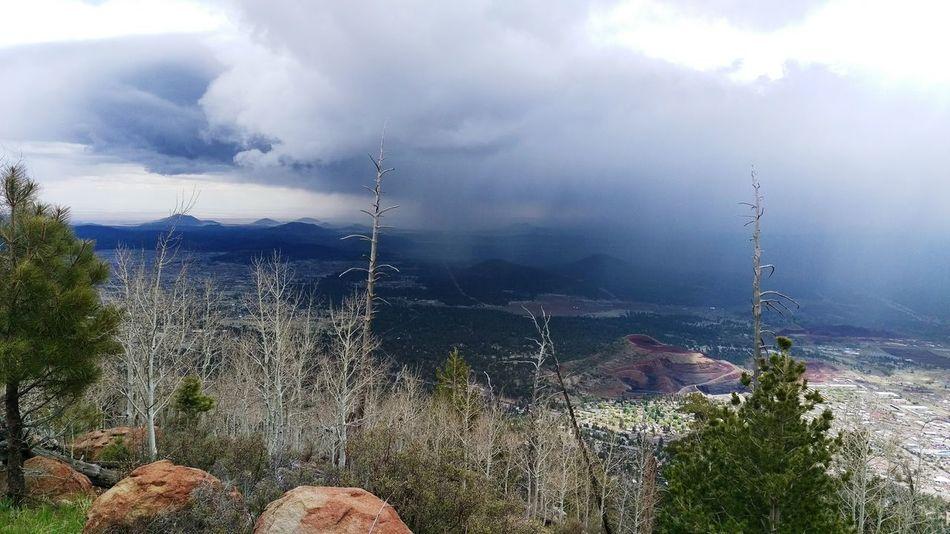 Rain Hike Mountaim Arizona Adventure Outdoors Nature Nature Photography Success Clouds Rainy Day az