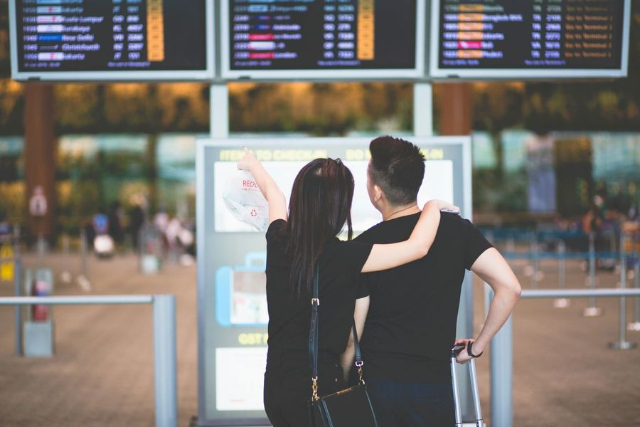 Is that our plane? Dof-EEA3SG Airport Waiting Flying Airport Couples❤❤❤ Loveisintheair The Street Photographer - 2015 EyeEm Awards Changi Airport EEA3 - Singapore