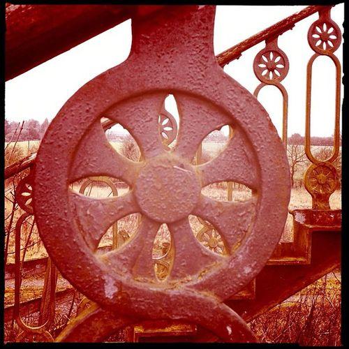 Train bridge skeleton #bramptonvalleyway Bramptonvalleyway