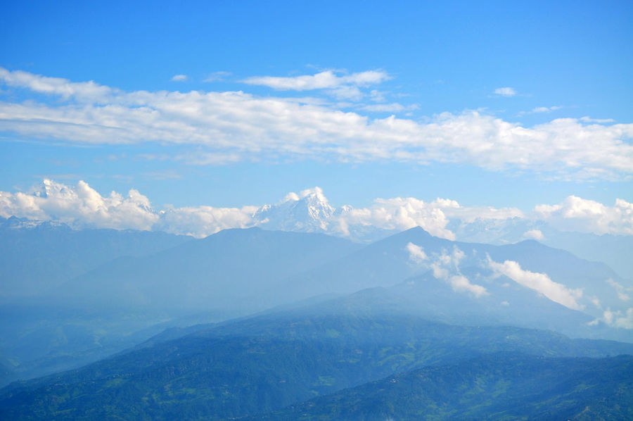 early morning in Himalaya - view in Nagarkot, Nepal ASIA Beauty In Nature Beauty In Nature Himalaya Himalayas Mountain Nagarkot Nature Nature Nature Photography Nature_collection Nepal Scenics Sky Tranquil Scene Tranquility Trip Trippy V Vacations View