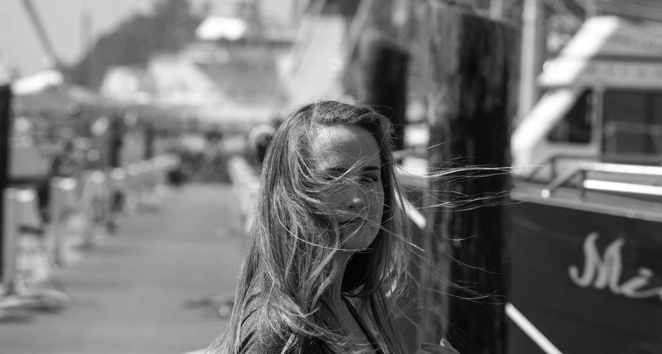 Portrait Black And White Photography Newport Oregon Newport Bay Boat Marina Real People Human One Pnw
