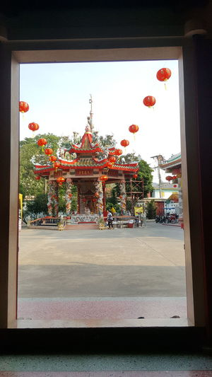 Phra putthabat Temple,Saraburi Architecture Building Exterior Built Structure Business Finance And Industry Chinatown Chinese Temple City Cultures Day Entrance Eyeemtravel  No People Non-western Script Outdoors Place Of Worship Religion Sky Tradition Travel Travel Destinations