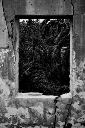 Old Ruin Window No People Ancient Abandoned Trres Blackandwhite Sky Biskra Canonphotography Traditional Desert Beauty Flow Me