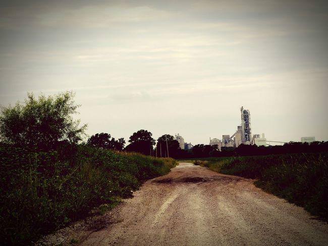 Hometown, country cruisin, nature, cement plant, beautiful, kansas, kansasphotos