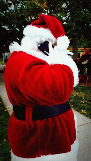 Santa Chicago Scout Phone Call Merry Christmas Happy Hanukkah Joyouskwanza Merrychrismahanukwanzakah