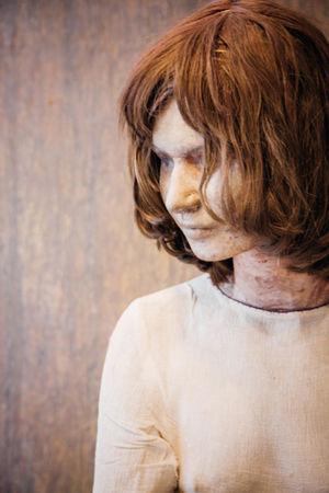 Art ArtWork Contemplation Human Representation Kunsten Kurt Trampedach Long Hair Manequin Profile
