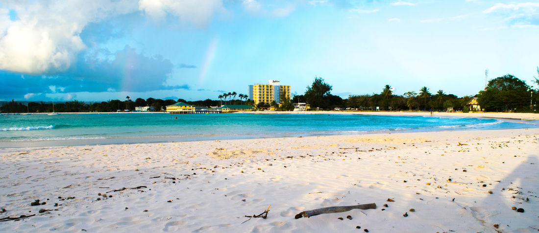 Barbados Beach Landscape Check This Out Enjoying Life Caribbean Clouds Rainbow Radisson The Great Outdoors - 2015 EyeEm Awards