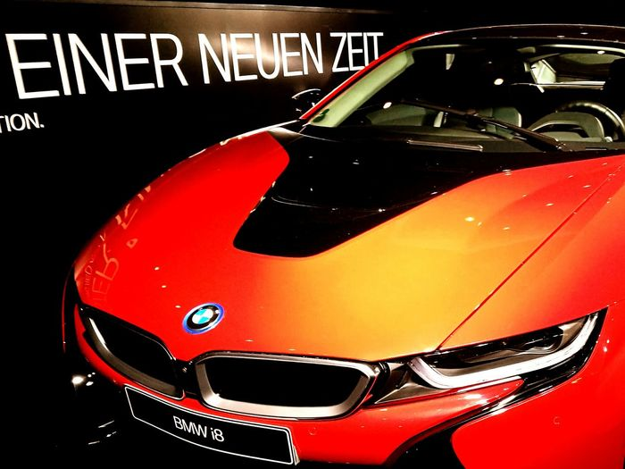 New way 2drive BMW I8 Transportation Car Road Speedometer Mode Of Transport Land Vehicle Old-fashioned Travel Close-up Red Vibrant Color Outdoors Journey Extreme Close Up Motor Vehicle No People