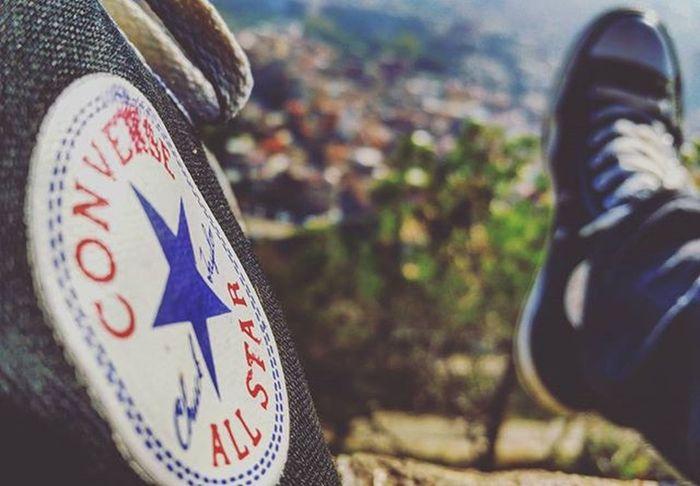 I ❤ Converse Converseallstar ChuckTaylors Barcelona Black Feet