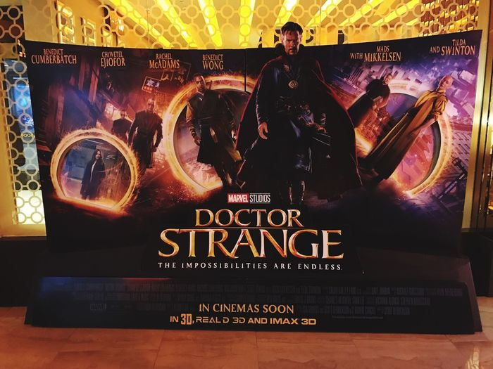 MOVIE Marvel Doctor Strange First Eyeem Photo