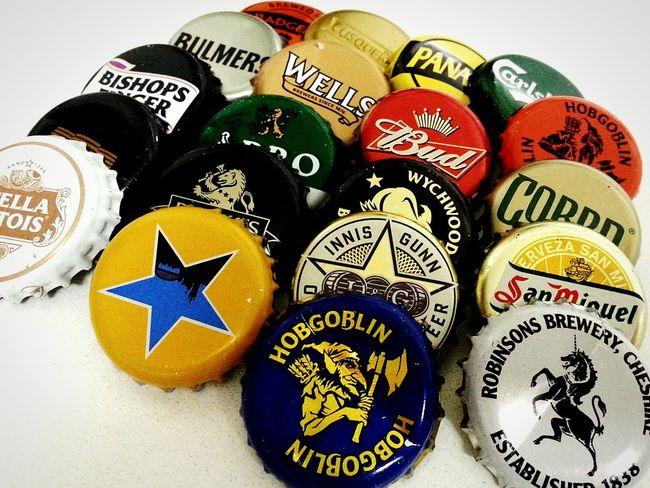 Bottle Tops Beer Bottlecaps Bottes