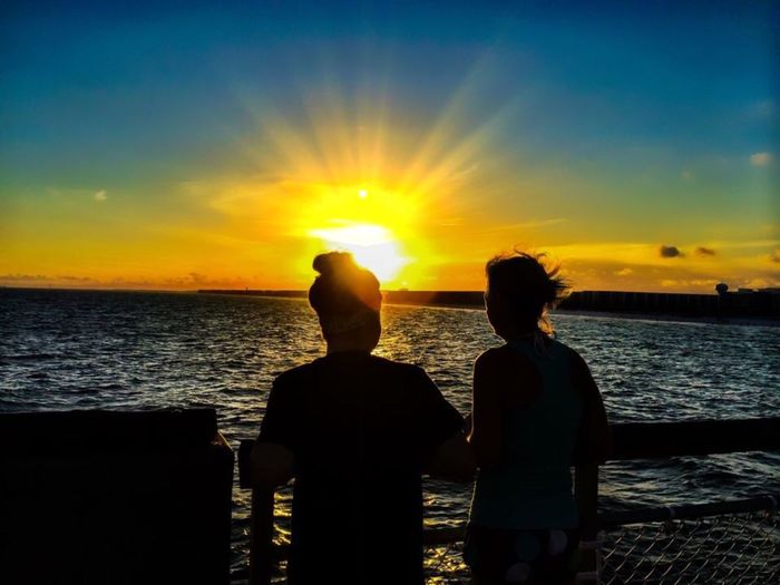 Summer silhouettes