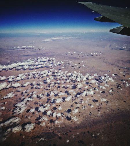 Taken from my flight back to DXB...I think This is somehwere over Africa.... Oneplusone Emiratesairlines MileHighClub InFlightPhoto